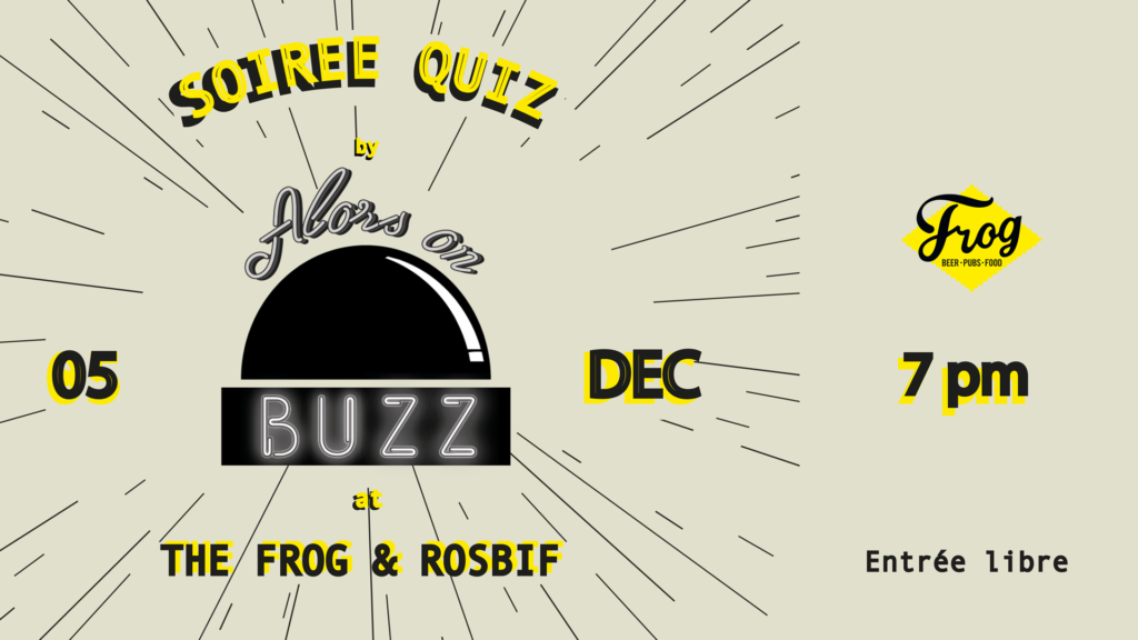 alors on buzz soiree quiz